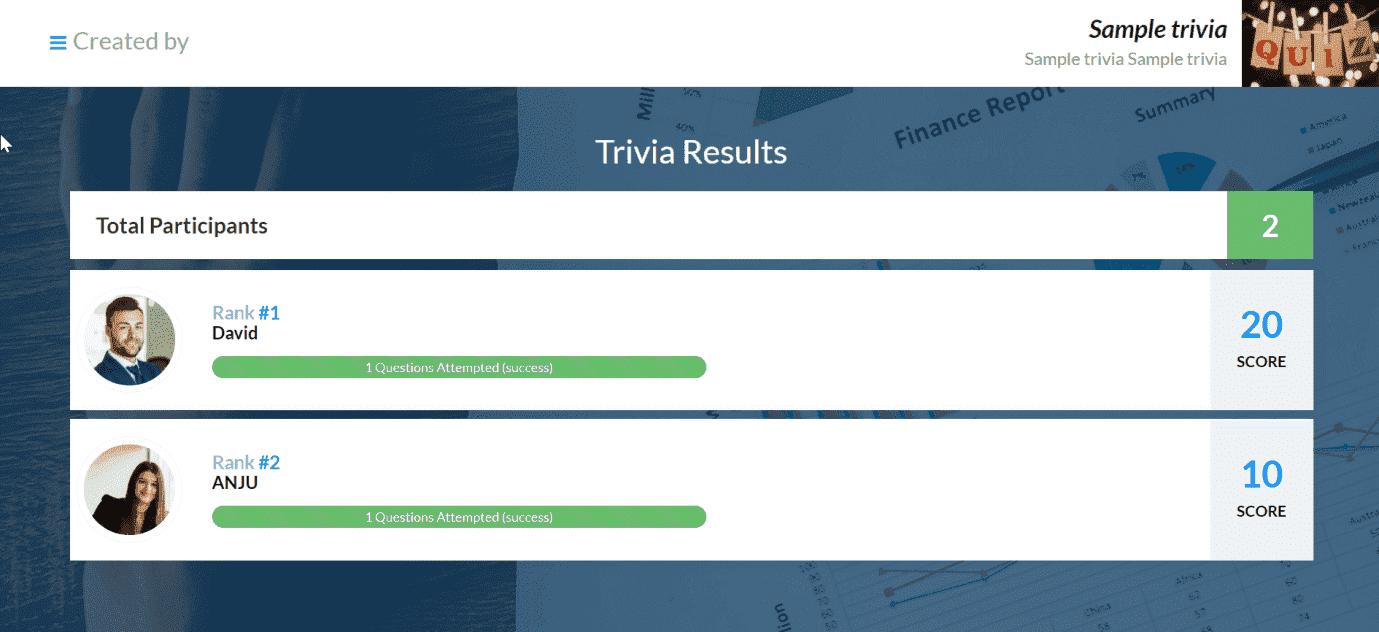 Trivia Online